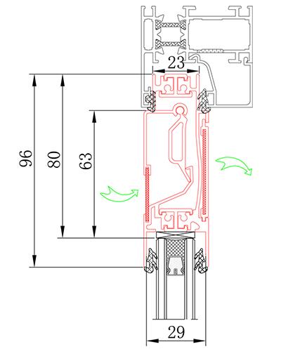 窗式通風器JT-211