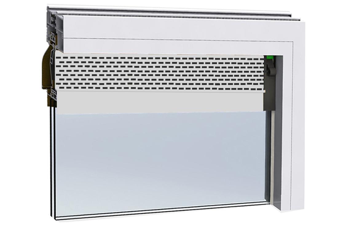 门窗自然通风器JT-208